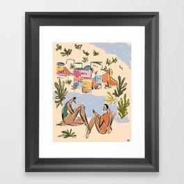 Italian Riviera Framed Art Print