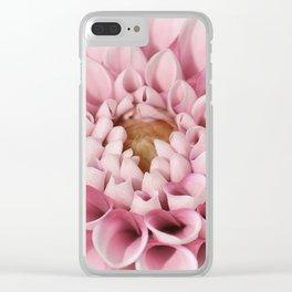 Dahlia 302 Clear iPhone Case