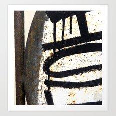 Warehouse District Nine Art Print
