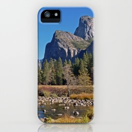 Valley view of Yosemite iPhone Case