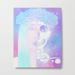 Fairy/skeleton Metal Print