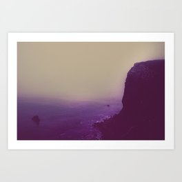The Cliffs Art Print
