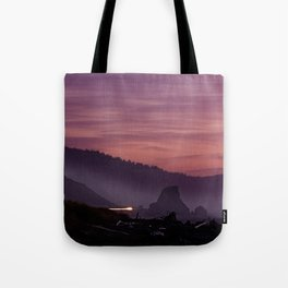 Gold Beach Sunset Tote Bag