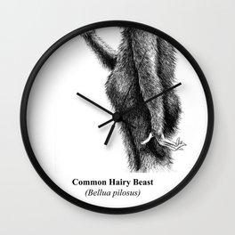 MONSTER, Common Hairy Beast Wall Clock
