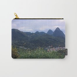 Pitons—Saint Lucia Carry-All Pouch