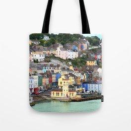 Colorful Cobh Ireland Tote Bag