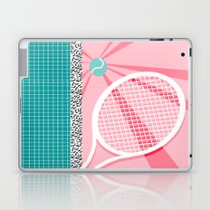 Boo Ya - tennis full court racquet palm springs resort sports vacation athlete pop art 1980s neon  Laptop & iPad Skin