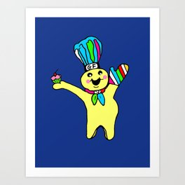 Muffin Man Art Print