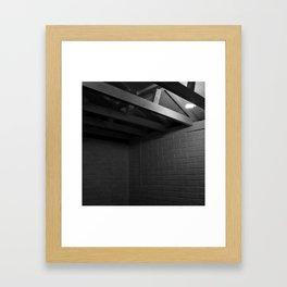 Psychology of Crime 02 Framed Art Print