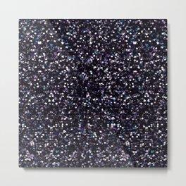 Iokasti Blue-Black Swarovski Metal Print