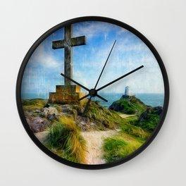 Llanddwyn Island Wall Clock