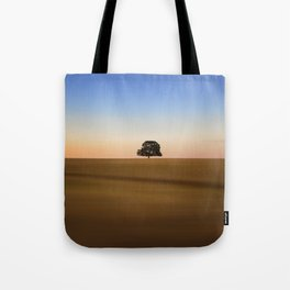 Focus on one thing at a time isolated oak tree Tote Bag