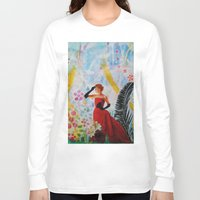 vogue Long Sleeve T-shirts featuring Vogue by John Turck