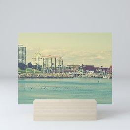 Seaside ~ Long Beach ~ California Mini Art Print