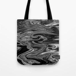 Marbled XIX Tote Bag