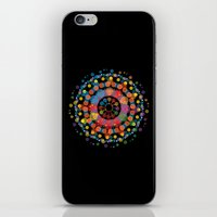 circles iPhone & iPod Skins featuring Circles by Scalifornian