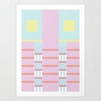 geometric7 Art Print