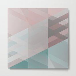 The clearest line X Metal Print
