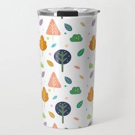 Minimal Tree Pattern Travel Mug