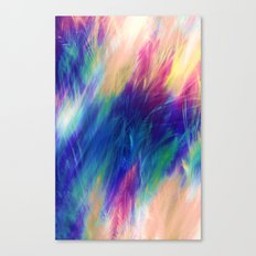 Paint Feathers in the Sky Canvas Print