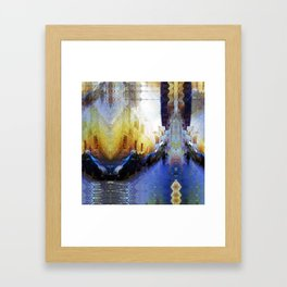 Acclaims, jams, frights thrift. Framed Art Print