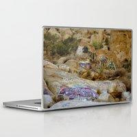 grafitti Laptop & iPad Skins featuring Rock Grafitti by Sydney Major