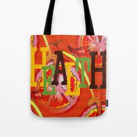 health Tote Bags featuring Health by Sartoris ART