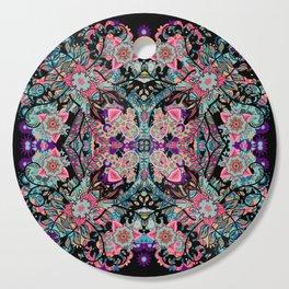 Mandala Colorful Boho Cutting Board