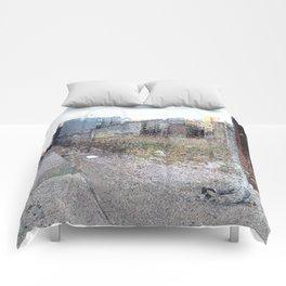 Vacant Lot Door Comforters
