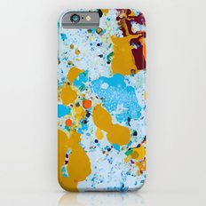 Yellow splat. iPhone 6s Slim Case