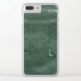Kombu green Clear iPhone Case