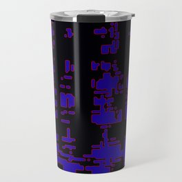 jitter, black blue, 3 Travel Mug