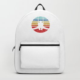 Gymnast Retro Cool Gymnast Athletic Sports Gift Backpack