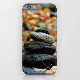 Caught Between a Rock and a Hard Place  iPhone Case