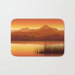 Sunset near Lake Bath Mat
