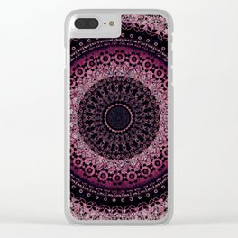 Rosewater Tapestry Mandala Clear iPhone Case