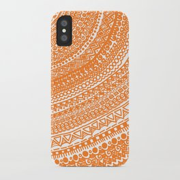 Orange Pulse o3. iPhone Case