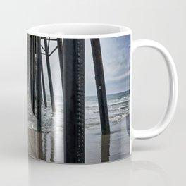 Underneath The Oceanside Pier, Oceanside, California Coffee Mug