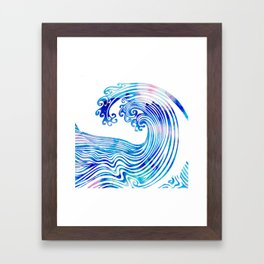 Waveland Framed Art Print