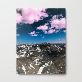 Cotton Candy Views Metal Print
