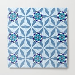 Persian Tile 01 Metal Print