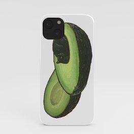 Avocado Cat iPhone Case