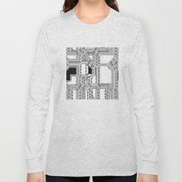 seamless pattern texture background Long Sleeve T-shirt
