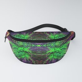 Electric Evil Villain Sunset by Chris Sparks Fanny Pack