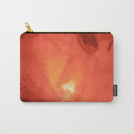 Textures (Red version) Carry-All Pouch
