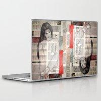 lana Laptop & iPad Skins featuring LANA by Aidan Reece Cawrey