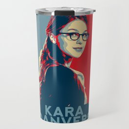 Kara Danvers POP ART Poster Travel Mug