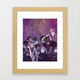 Heathens Greetings Framed Art Print