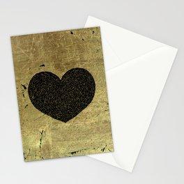 Valentine's Day Dark Heart Stationery Cards