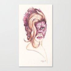 Scarlett Johnasson Vanity Fair & Lace Canvas Print